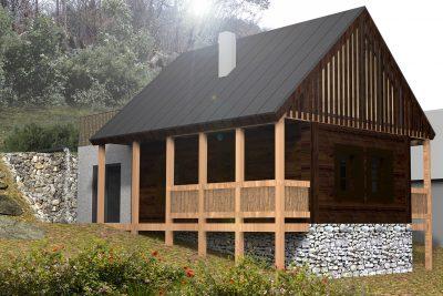 Architektonická štúdia revitalizácie vidieckeho domu